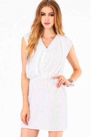 VANNY V NECK DRESS 39