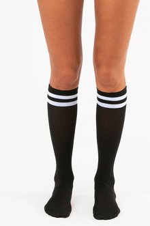 DOUBLE DOUBLE KNEE HIGHS 8