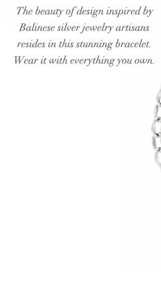 Pop heart bracelet