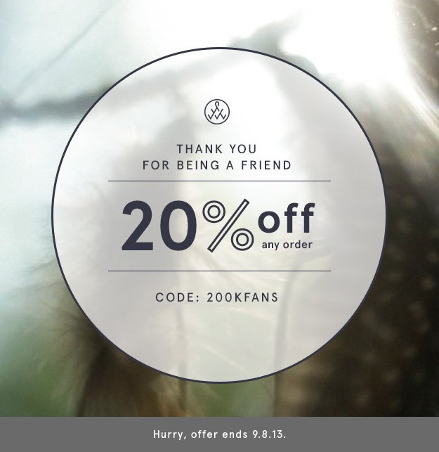 Use Code: 200KFANS