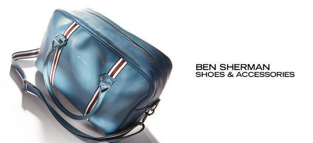 BEN SHERMAN SHOES & ACCESSORIES, Event Ends September 6, 9:00 AM PT >