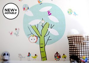 Made in USA: pop & lolli Fabric Wall Decals