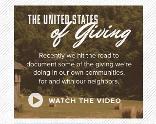 The United States of Giving - watch the video
