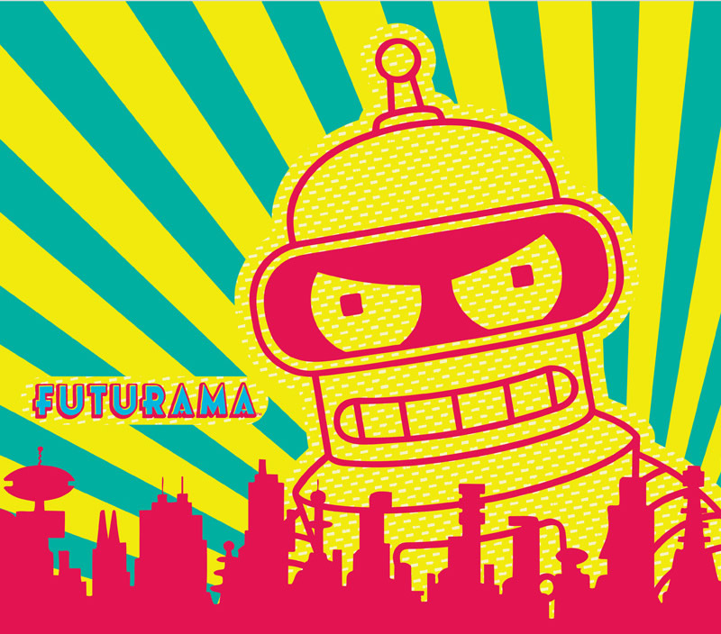 Futurama - Catch the season finale of Futurama season 7 tomorrow!