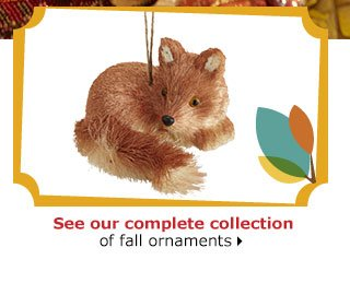 See our complete collection of fall ornaments