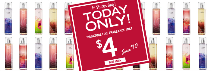 Signature Fine Fragrance Mist – $4