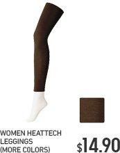 WOMEN'S HEATTECH LEGGINGS