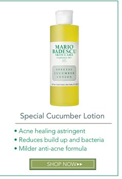 Special Cucumber Lotion