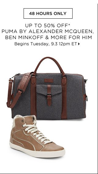 Up To 50% Off* Ben Minkoff & More For Him...Shop Now
