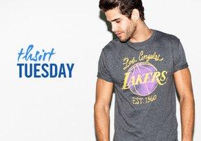 Shop T-Shirt Tuesday ft. Sports Tees