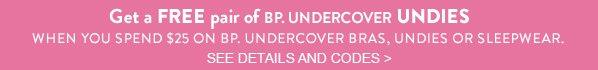 BP. UNDERCOVER