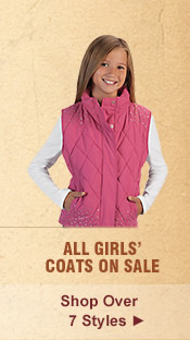All Girls Outerwear on Sale