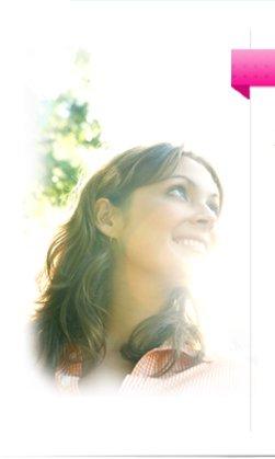 Headshot of Dr. Luftman, imagery of sunshine