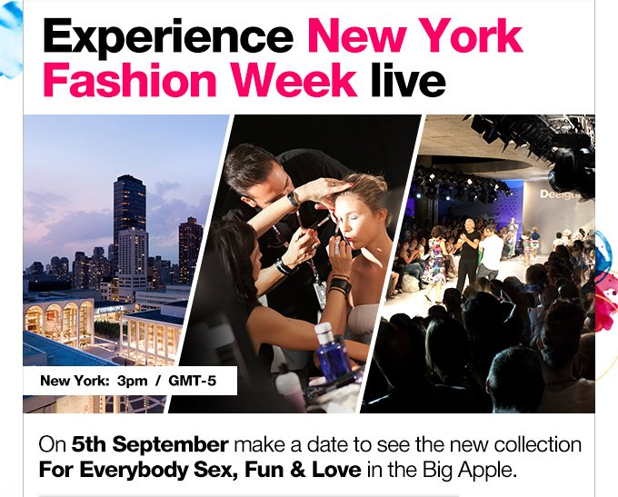 Experience New York Fashion Week live