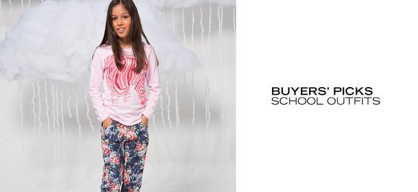 BUYERS' PICKS: SCHOOL OUTFITS, Event Ends September 6, 4:00 PM PT >