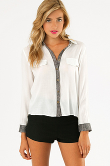 SHELLY BUTTON UP BLOUSE 25