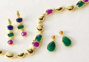 Colorful Gems: Jardin Jewelry