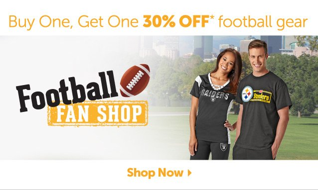 Buy One, Get One 30% OFF* football gear - Football Fan Shop - Shop Now