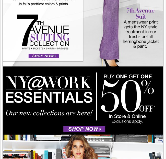 Our new NY@WORK Collections are here. Shop Now!