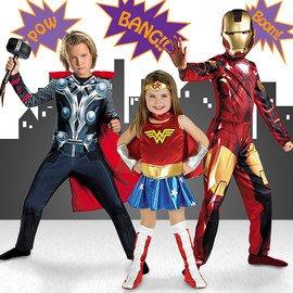 Heroic Haunting: Superhero Costumes