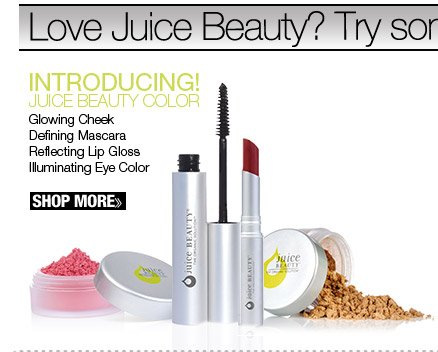 Introducing Juice Beauty Color