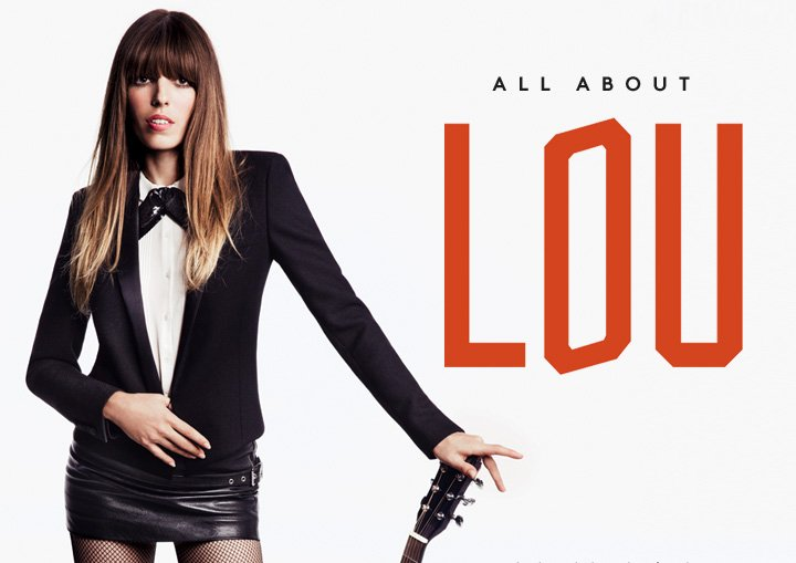 Lou Doillon: Our Fall 2013 campaign, shot by Inez and Vinoodh, is unveiled.