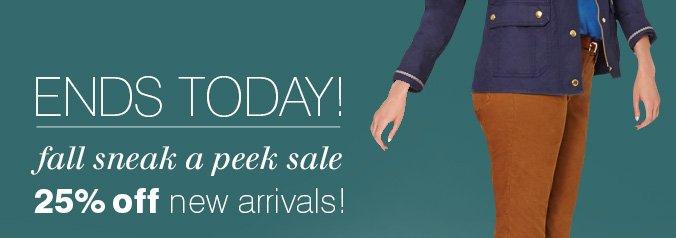 Click here to shop sneak a peak sale
