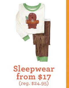 Sleepwear from $17 (reg. $24.95)
