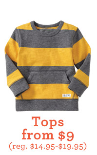 Tops from $9 (reg. $14.95-$19.95)