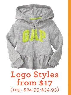 Logo Styles from $17 (reg. $24.95-$34.95)
