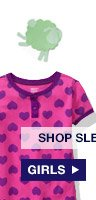 SHOP SLEEPWEAR: GIRLS