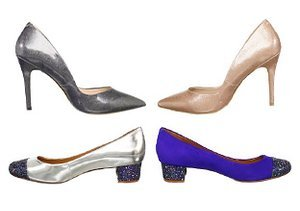 All that Glitters: Flats, Pumps & More