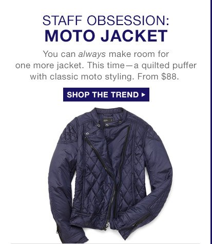 STAFF OBSESSION: MOTO JACKET | SHOP THE TREND