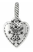 ABC Happy Girl Charm