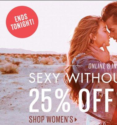 25% OFF Women's Jeans