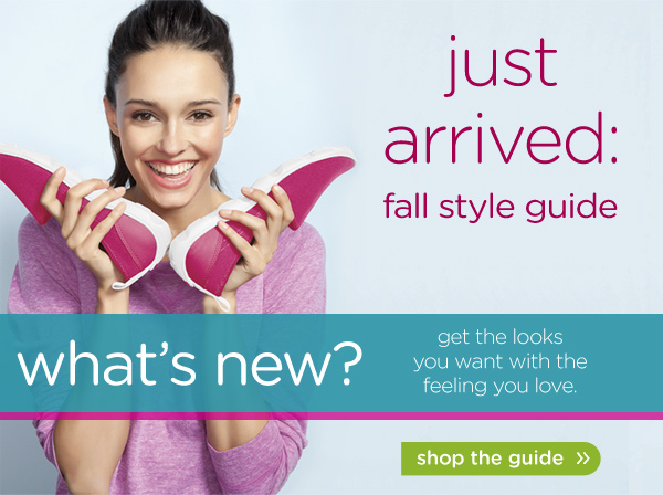just arrived: fall style guide - shop the guide