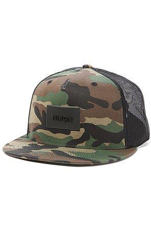 Buy the Ten Trucker Hat in Woodland Camo