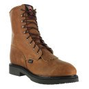 """Justin Men's 8"""" Lace-R Steel Toe Work Boots"""