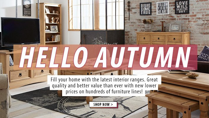 Hello Home - Shop Autumn home trends