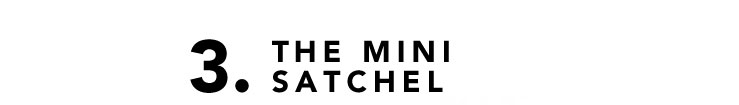 3. THE MINI SATCHEL