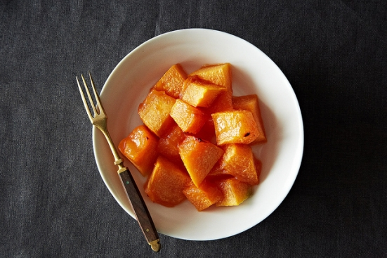 Genius Roasted Cantaloupe