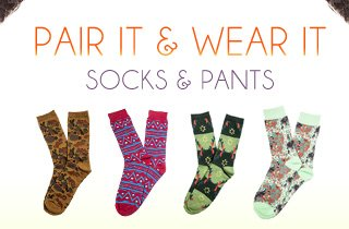 Pair It & Wear It: Socks & Pants