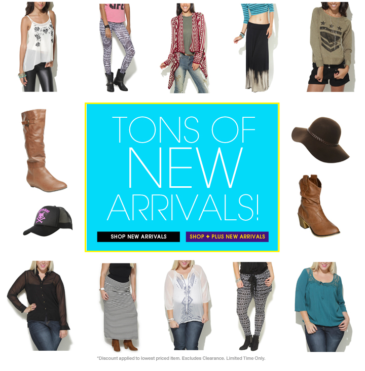 Tons of New Arrivals