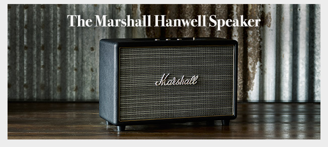 Shop the Marshall Hanwell Speaker