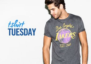 Shop T-Shirt Tuesday ft. Sports Tees