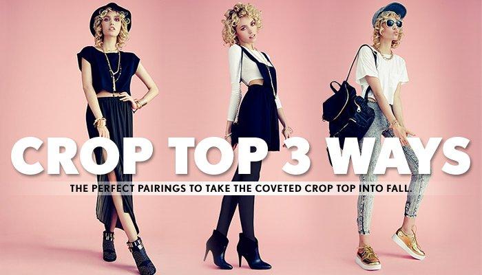 Crop Tops 3 Ways! - Shop Now
