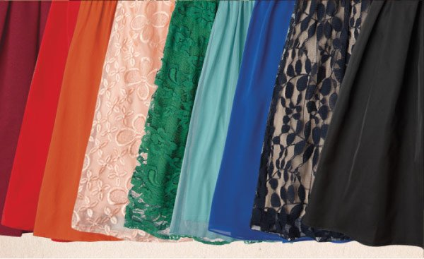 Formal Frocks in Every Color