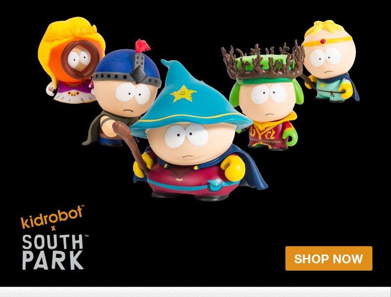 kidrobot x South Park.  Shop Now