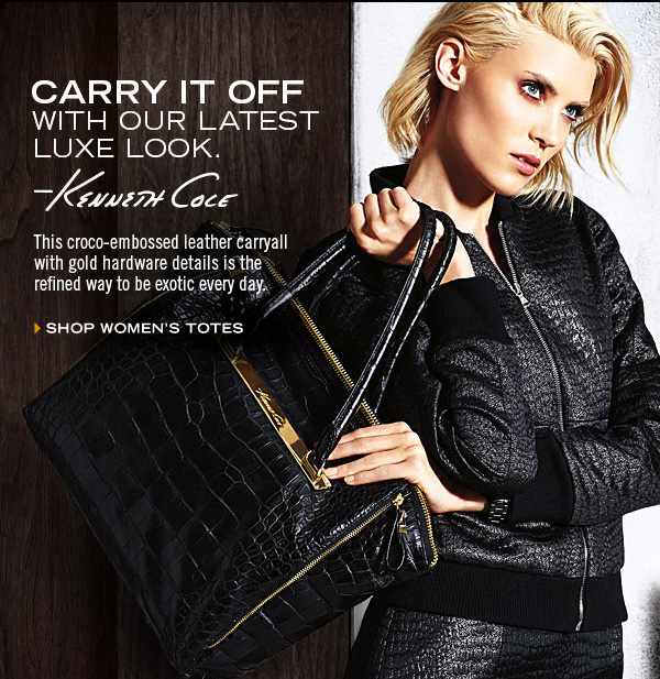 CARRY IT OFF WITH OUR LATEST LUXE LOOK  › SHOP WOMEN'S TOTES