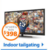Indoor tailgating